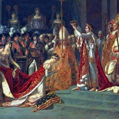Коронація Наполеона і Жозефіни. Фрагмент