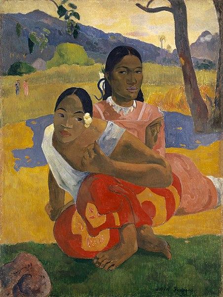 452px-Paul_Gauguin,_Nafea_Faa_Ipoipo__1892,_oil_on_canvas,_101_x_77_cm