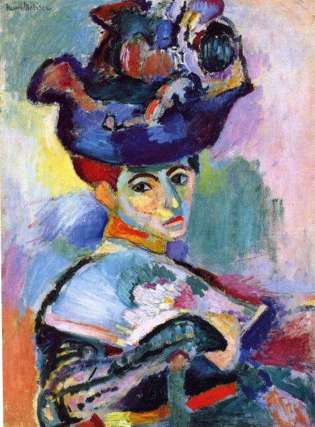 4. Матисс. Женщина в шляпе