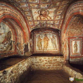 2. Катакомбы Святой Присциллы в Риме