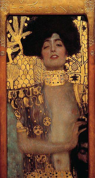 9. Климт. Юдиф і голова Олоферна, 1901. Австрійська галерея, Відень