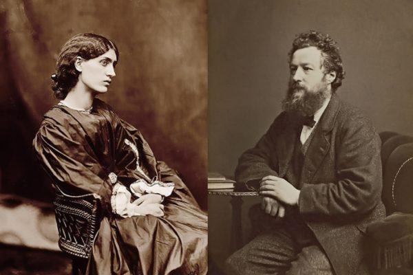 Морріс з дружиною