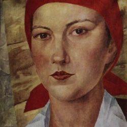 Девушка_в_красном_платке_(Работница)._1925